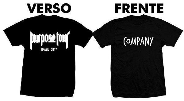 Camiseta Justin Bieber Purpose Tour – Company
