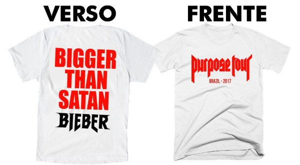 Camiseta Justin Bieber – Bigger Than