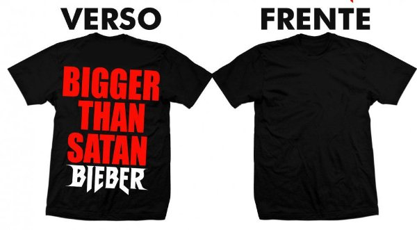 Camiseta Justin Bieber Purpose Tour 2