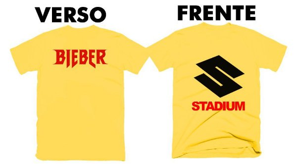 Camiseta Justin Bieber – Purpose Stadium