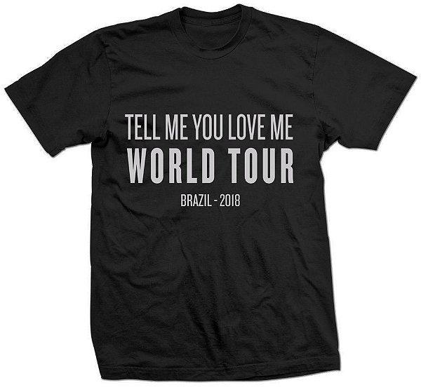 Camiseta Demi Lovato TMYLM Tour – Estampa Prata 1