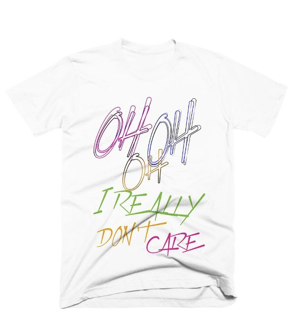 Camiseta Demi – Really dont care