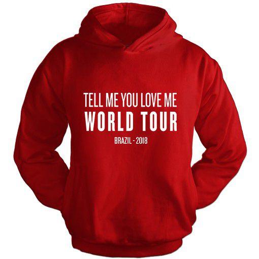 Moletom Demi Lovato TMYLM World Tour 12