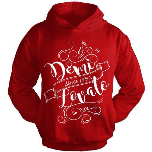 Moletom Demi Lovato 10