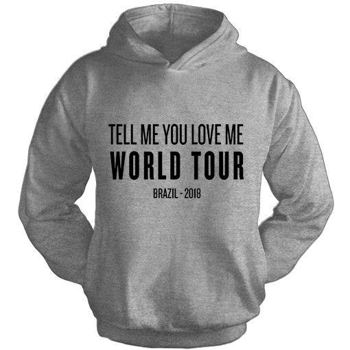 Moletom Demi Lovato TMYLM World Tour 8