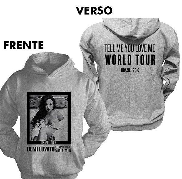 Moletom Demi Lovato TMYLM World Tour 3
