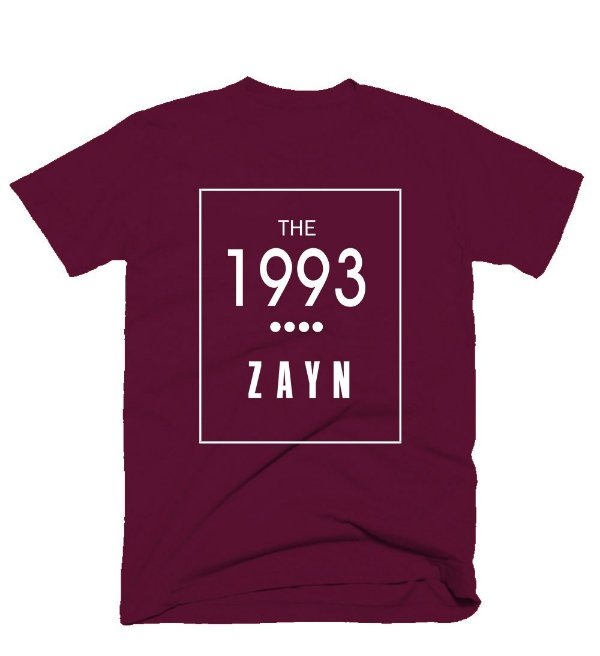 Camiseta Zayn Malik – The 1993
