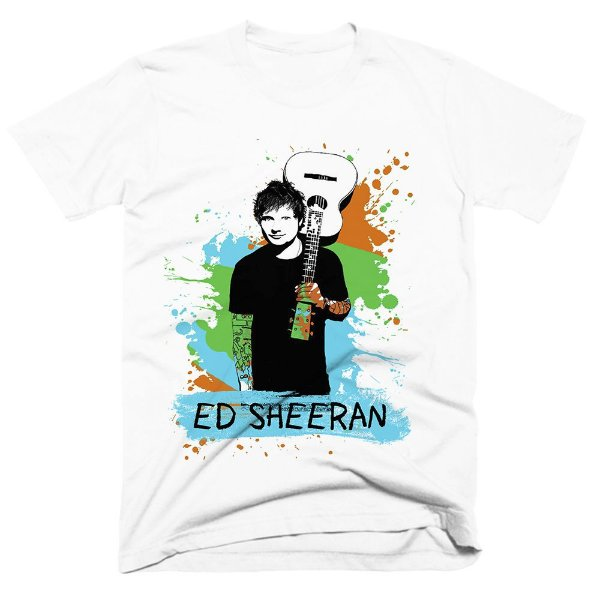 Camiseta Ed Sheeran 8