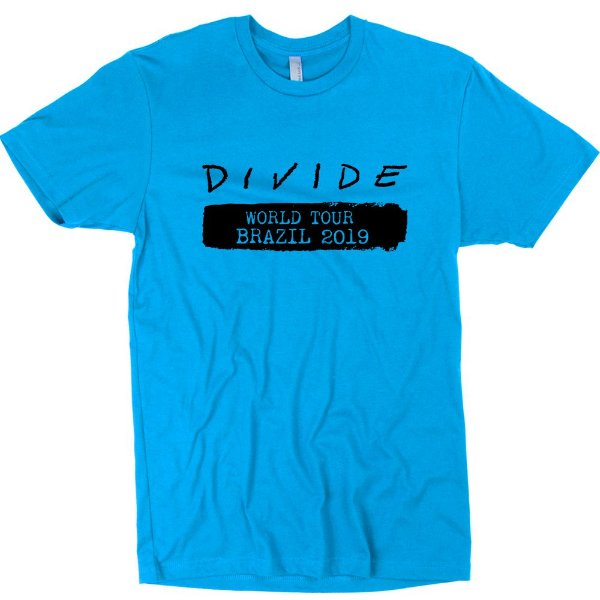 Camiseta Ed Sheeran – Divide Tour