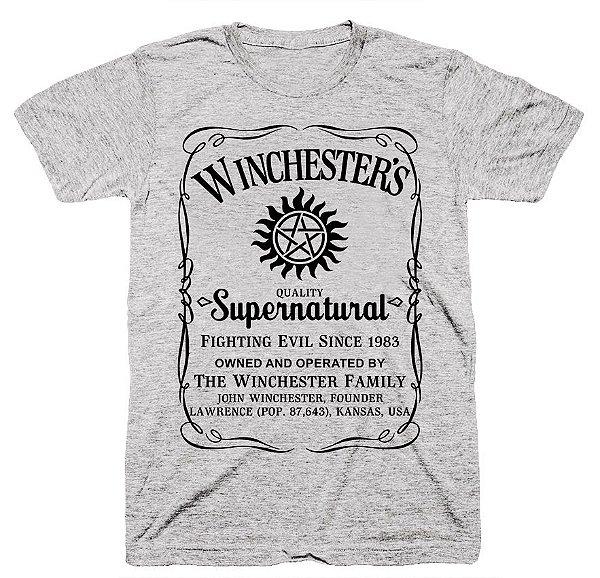 Camiseta SuperNatural – Jack Daniels
