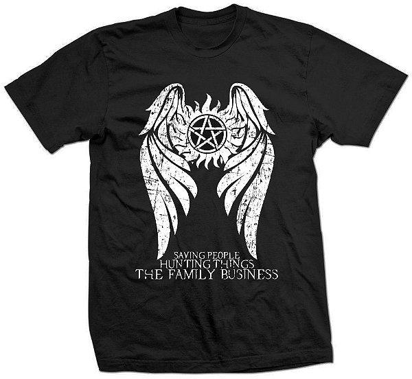 Camiseta SuperNatural – Family Business