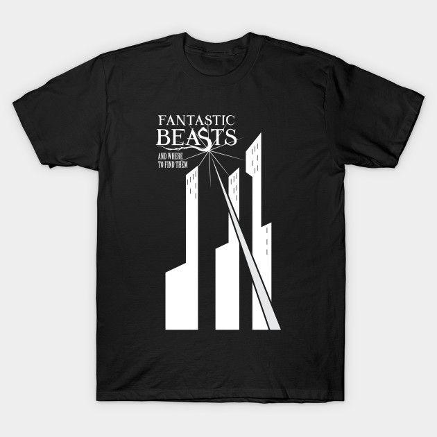 Camiseta – Animais Fantásticos – 04