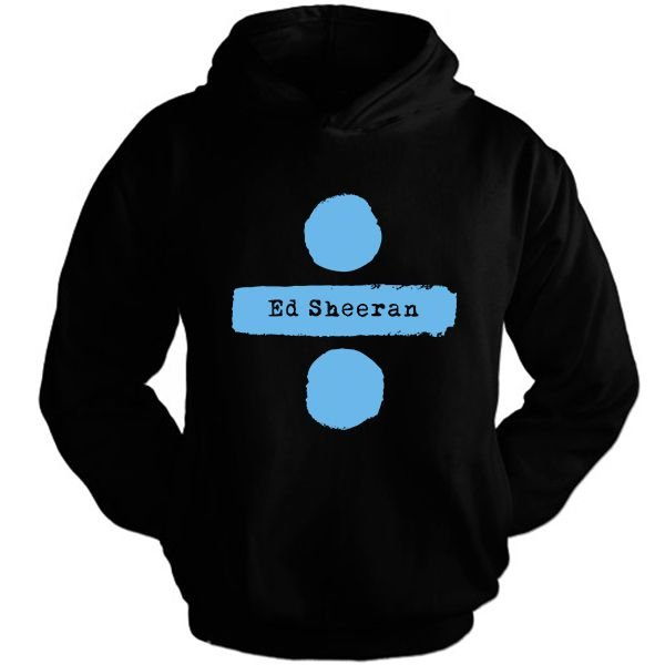 Moletom Ed Sheeran – Divide 1 estampa Azul