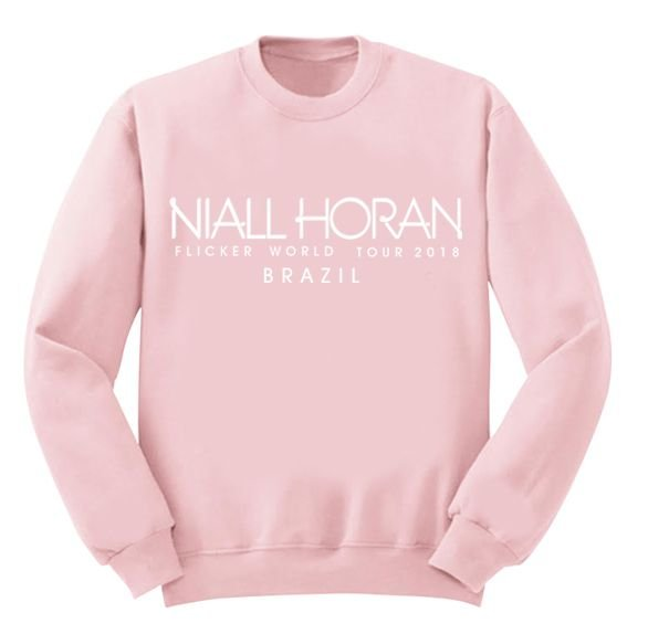 Moletom Rosa Niall Horan – Flicker Tour 2