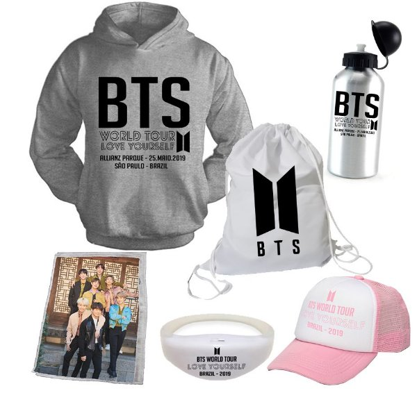Kit BTS World Tour 2