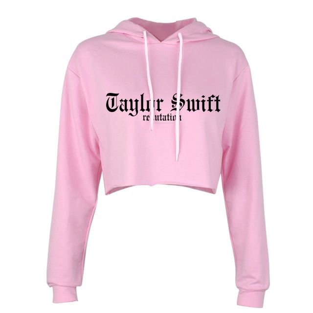 Moletom Cropped Taylor Swift – Reputation – Logo