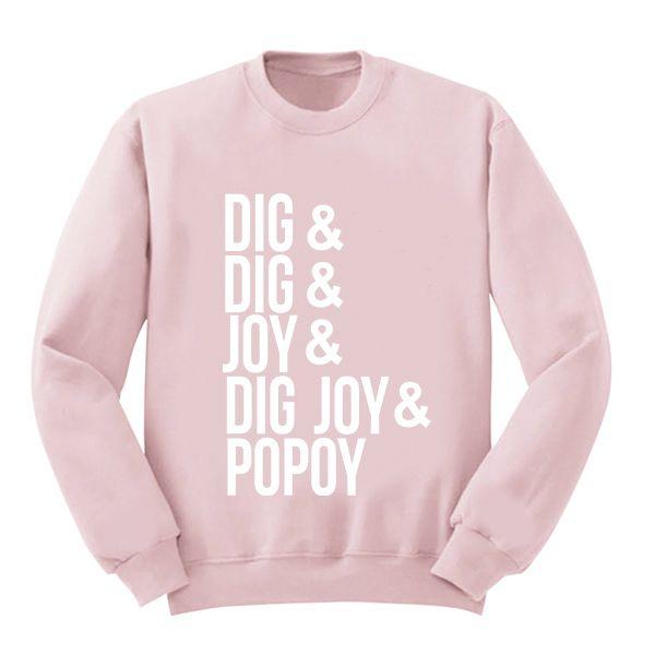 Moletom Rosa Sandy e Junior - Dig Dig Joy