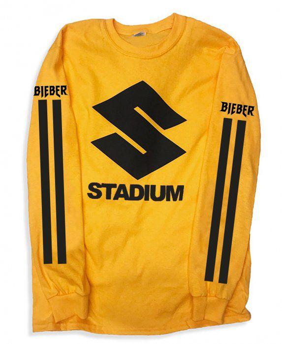 Camiseta Manga Longa – Stadium Tour – Justin Bieber 3