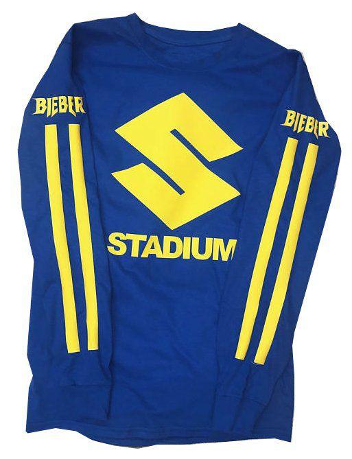 Camiseta Manga Longa – Stadium Tour – Justin Bieber 2