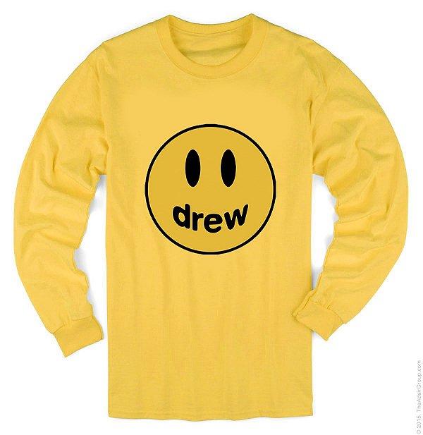 Camiseta Manga Longa- Justin Drew House – Smile