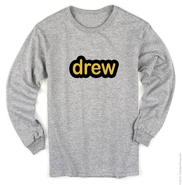 Camiseta Manga Longa- Justin Drew House