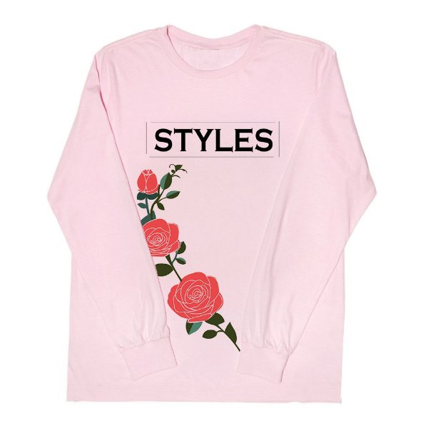 Camiseta Manga Longa – Harry Styles – Flowers 2
