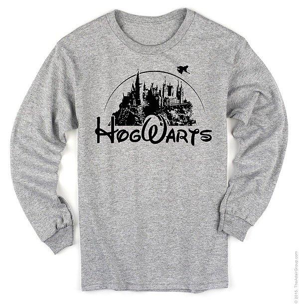 Manga Longa – Hogwarts Disney
