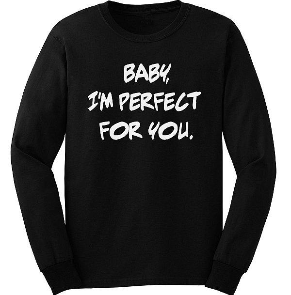 Manga Longa – 1D Baby perfect for you