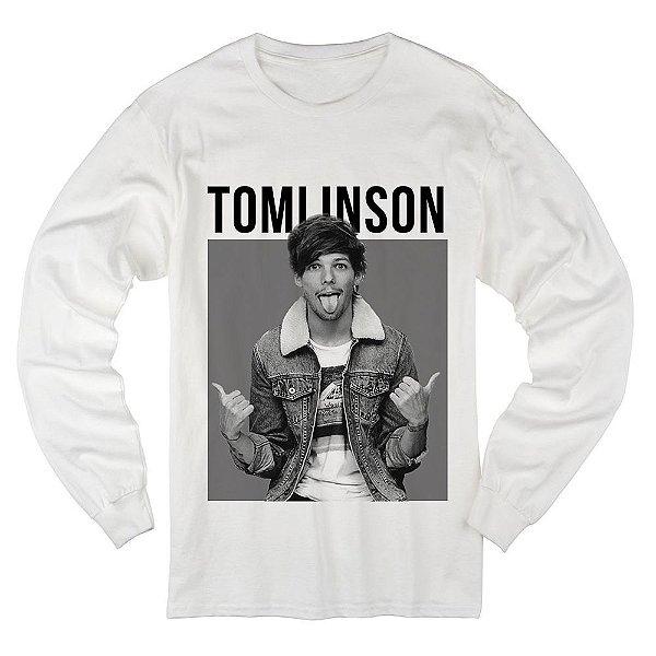 Camiseta Manga Longa Louis Tomlinson 3