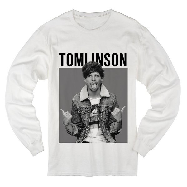 d38fa445e Camiseta Manga Longa Louis Tomlinson 3 - 4 Elementhos - Você Imagina ...