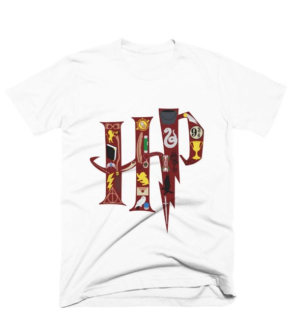 Camiseta Harry Potter – HP Simbols