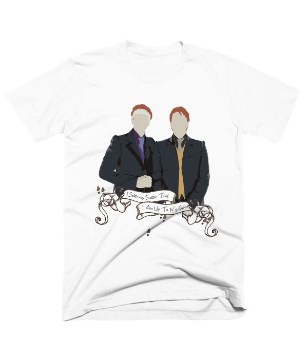 Camiseta Harry Potter – Fred e Jeorge Wasley