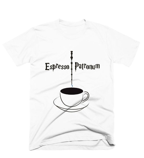 Camiseta Harry Potter – Espresso Patronum