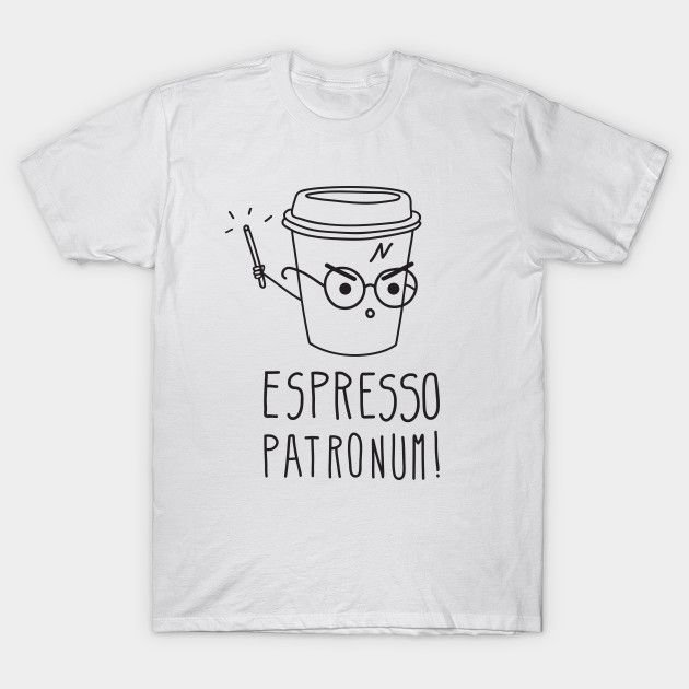 Camiseta Harry Potter – Espresso Copo