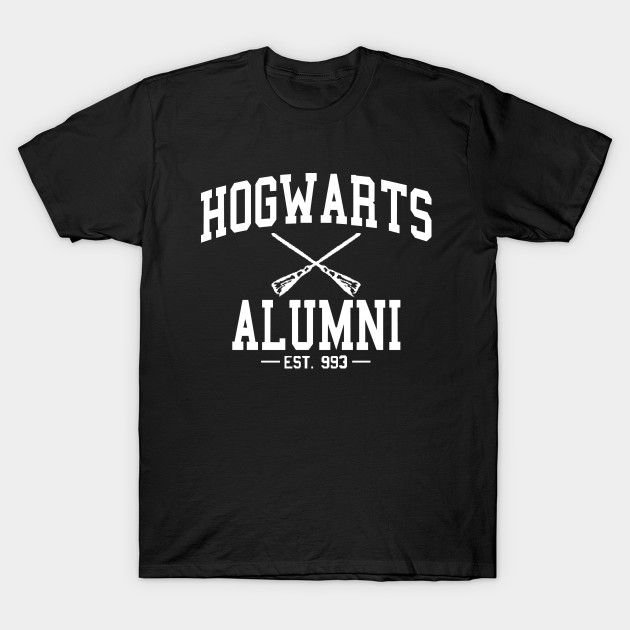 Camiseta Harry Potter – Hogwarts Alumni