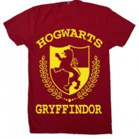 Camiseta Harry Potter – Gryffindor