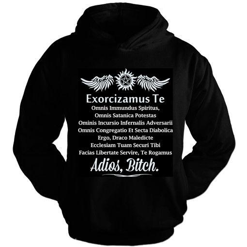 Moletom SuperNatural – Exorcizamus Te