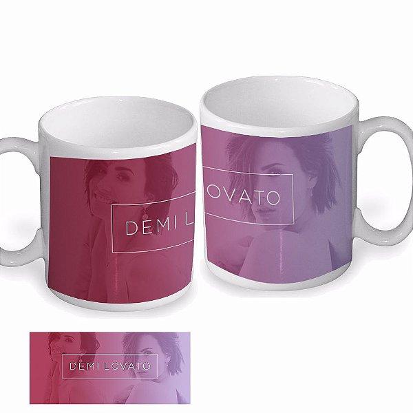 Caneca Demi Lovato – Modelo 3