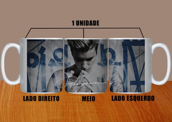 Caneca Justin Bieber – Modelo 10