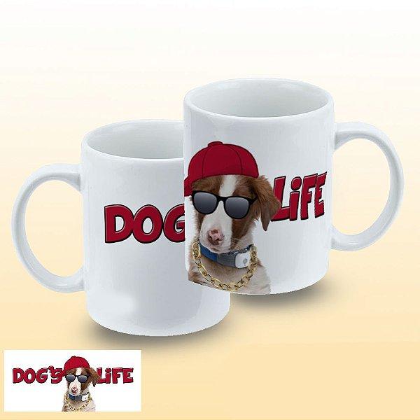 Caneca Dogs Life
