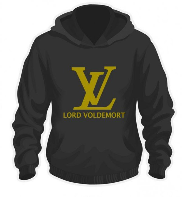 Moletom Lord Voldemort estampa Dourada