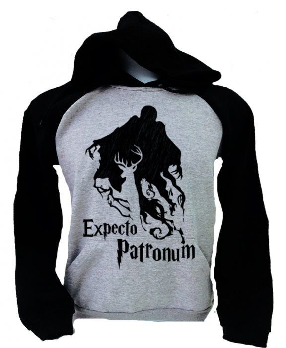 Moletom Raglan – Harry Potter – Expecto Patronum