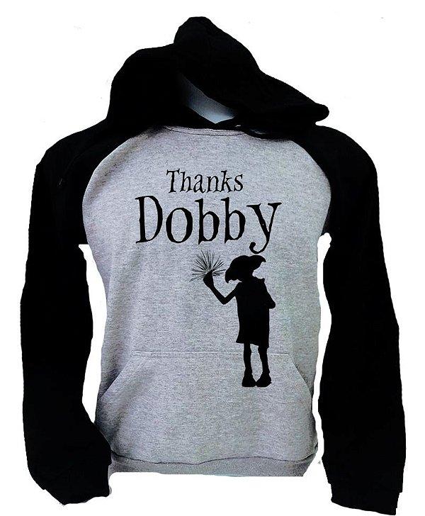 Moletom Raglan Thanks Dobby