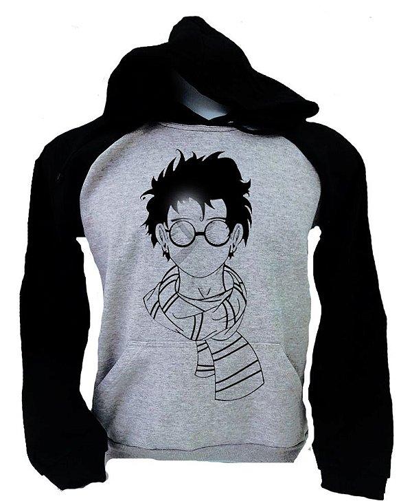 Moletom Raglan Harry Potter – Cachecol