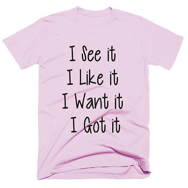 Camiseta Ariana Grande - 7 Rings - I see it, I Like it