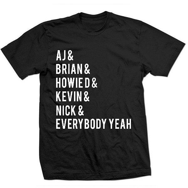 Camiseta BackStreet Boys - Everybody