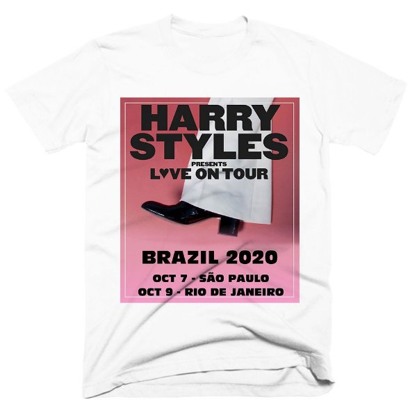 Camiseta Harry Styles - Love on Tour 2020