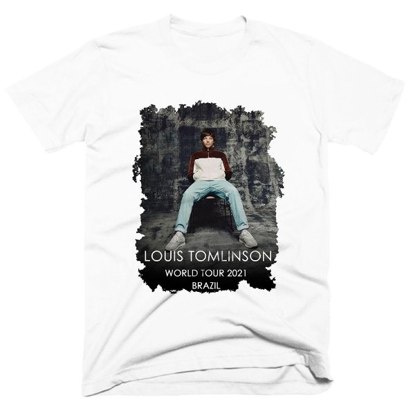 Camiseta Louis Tomlinson - World Tour 2021