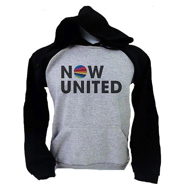 Moletom Raglan Now United