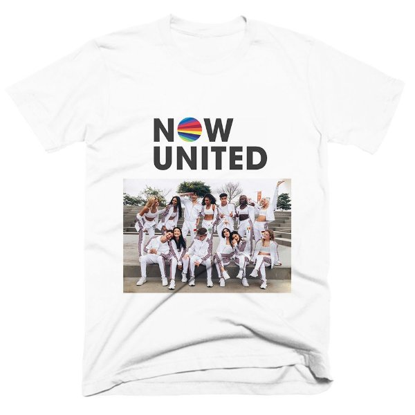 Camiseta Now United Foto